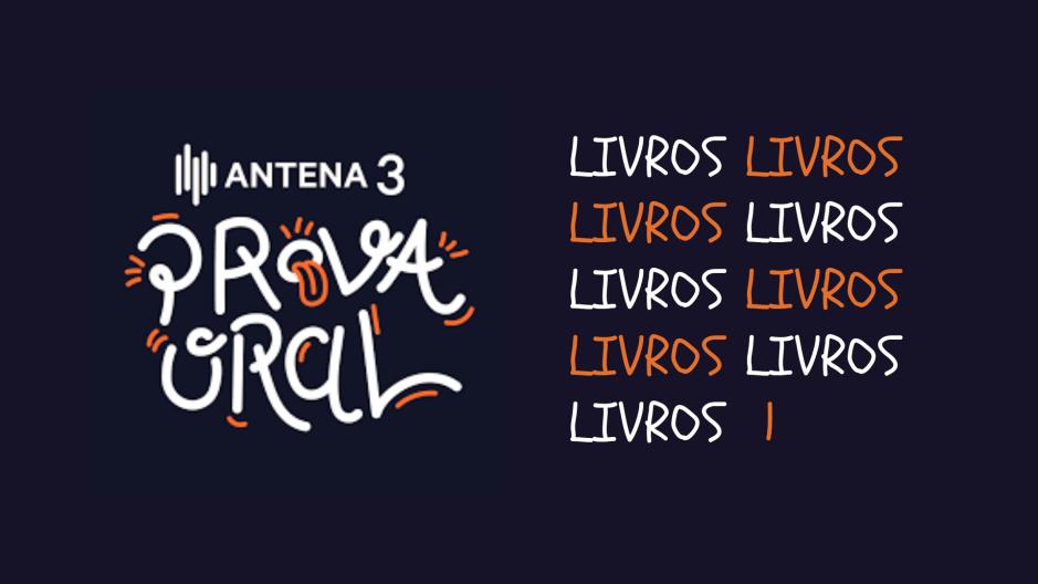 A Biblioterapeuta - Biblioterapia - Sandra Barão Nobre - Fernando Alvim - Prova Oral - Antena 3 - Livros ficção