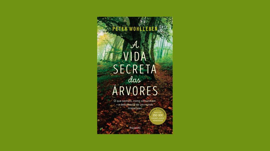 1 Minuto de Leitura - A Biblioterapeuta - Biblioterapia - Sandra Barão Nobre - A Vida Secreta das Árvores - Peter Wholenben