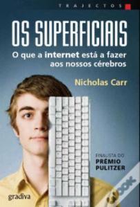 Sandra Barão Nobre - A Biblioterapeuta - Depressçao pós-férias - Os Superficiais - Nicholas Carr