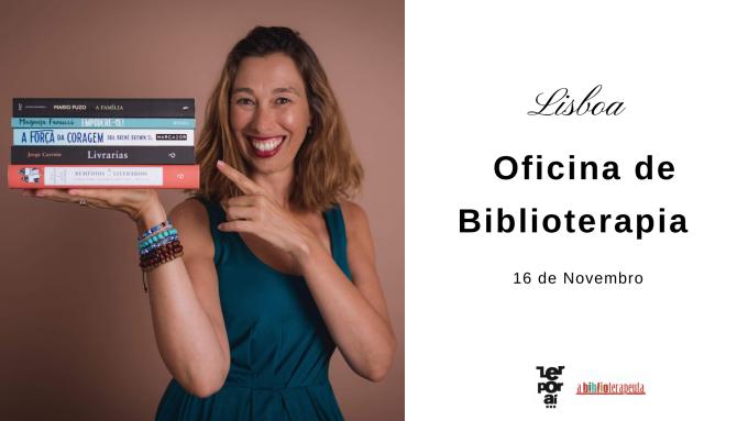 Sandra Barão Nobre - A Biblioterapeuta - Biblioterapia - Oficina Lisboa - Novembro 2019