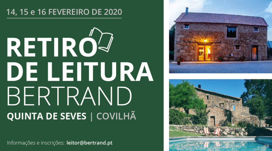 Retiro de Leitura Bertrand - Sandra Barão Nobre - A Biblioterapeuta - Bertrand Livreiros - Quinta de Seves - 2