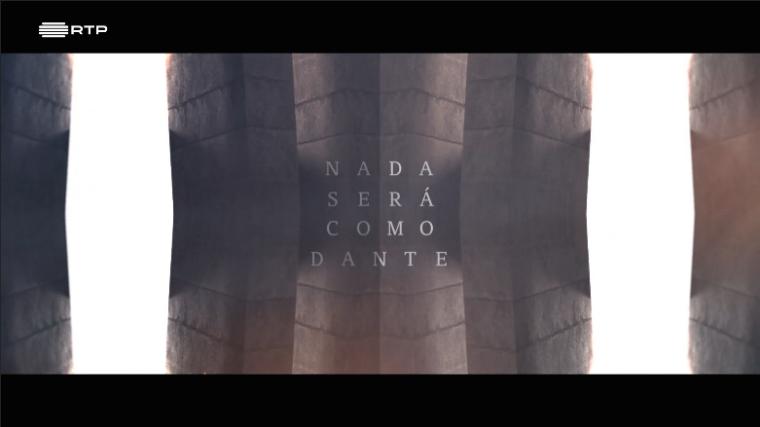 Sandra Barão Nobre - Isabel Alçada - Biblioterapia - Nada Será Como Dante - RTP2 - a