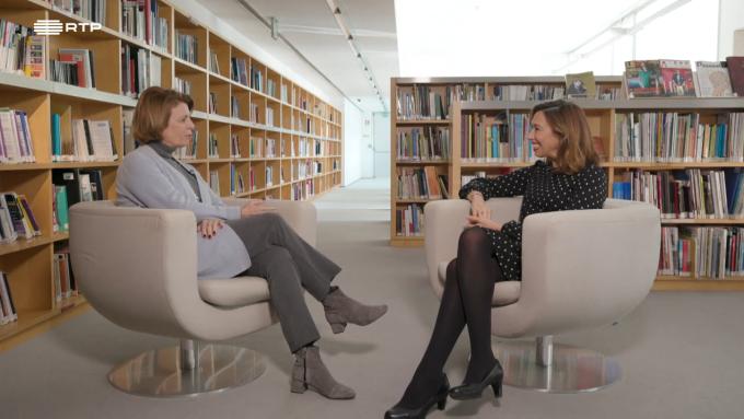 Sandra Barão Nobre - Isabel Alçada - Biblioterapia - Nada Será Como Dante - RTP2